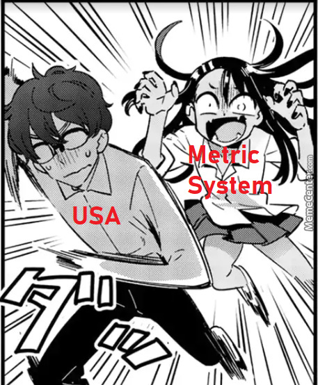 Me And The Bois In D&d Mutually Agreed To Use The Metric System Because It's Easier On All Of Us