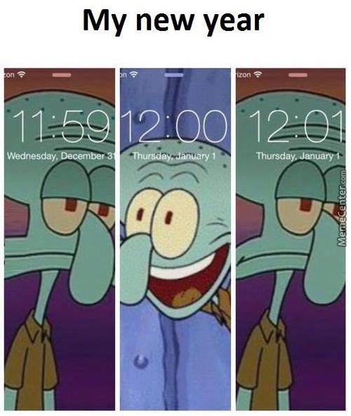 Me Every New Year :/ by mr_alfrid - Meme Center