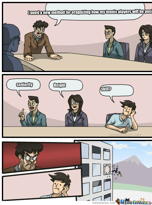 Me In A Meeting With My Tennis Coach