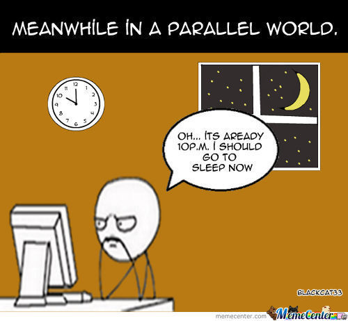 Me In  Parallel World ^__^