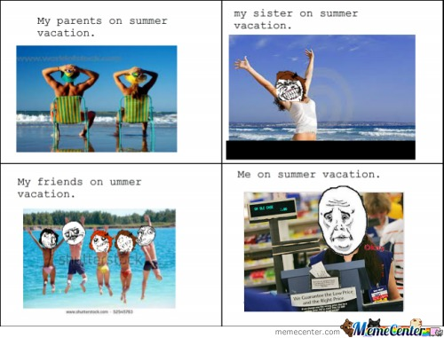 Me In The Summer Vacation