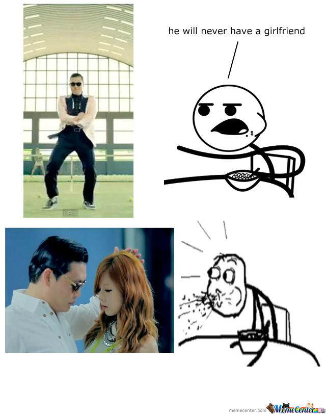 Me Reaction To Gangnam