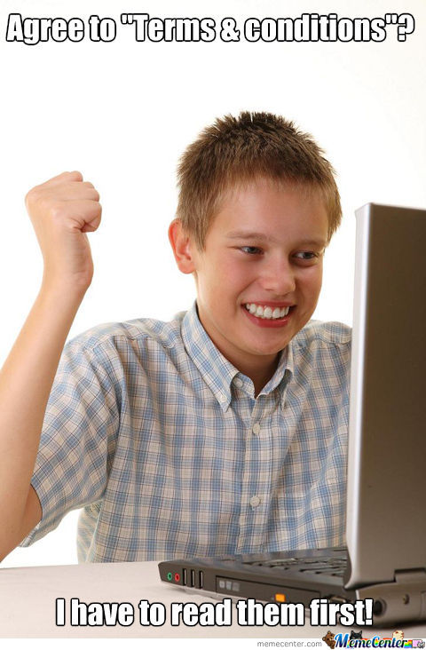 Me When I Downloaded My First Game Ever