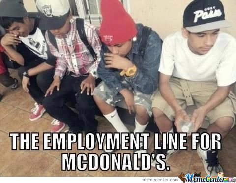 Mean While At Mcdonald's