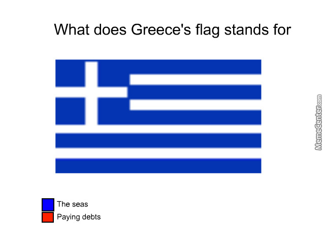 Meanings Of The Greek Flag.