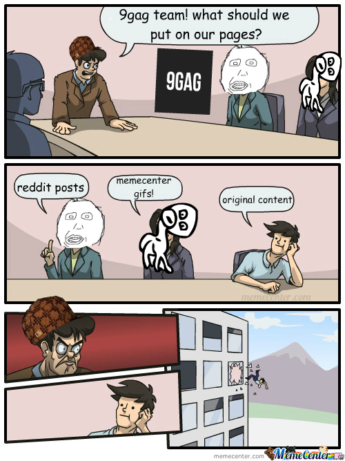 how to put an imagine in 9gag