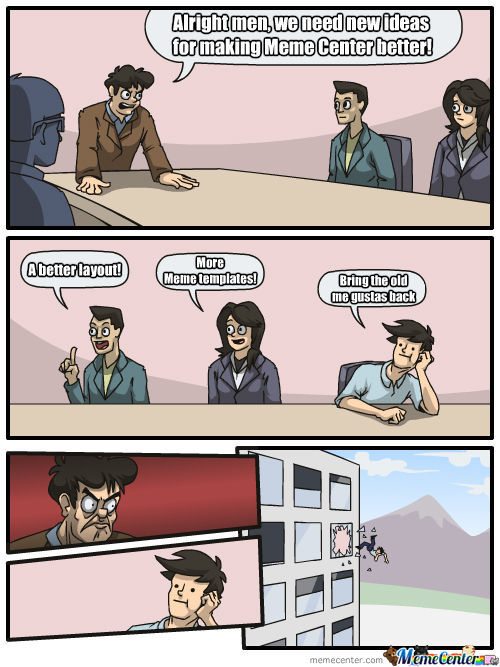 Meanwhile At Mc Headquarters...
