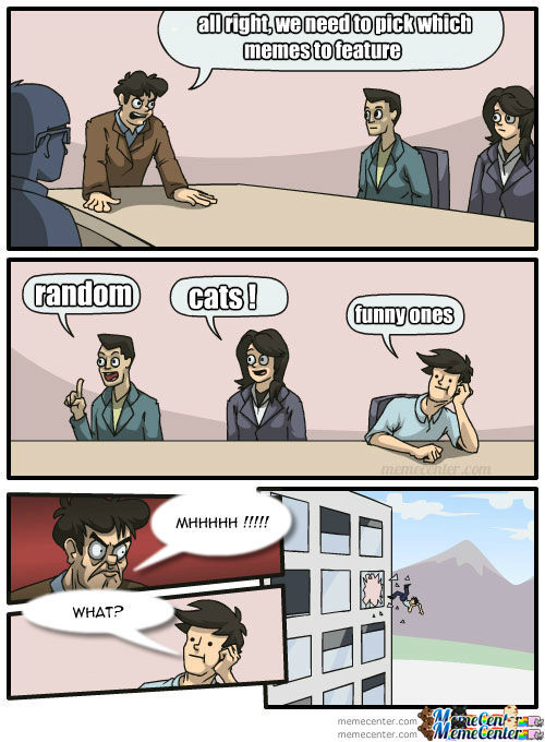 Meanwhile,at Memecenter Headquarters