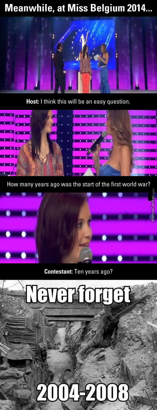 Meanwhile At Miss Belgium