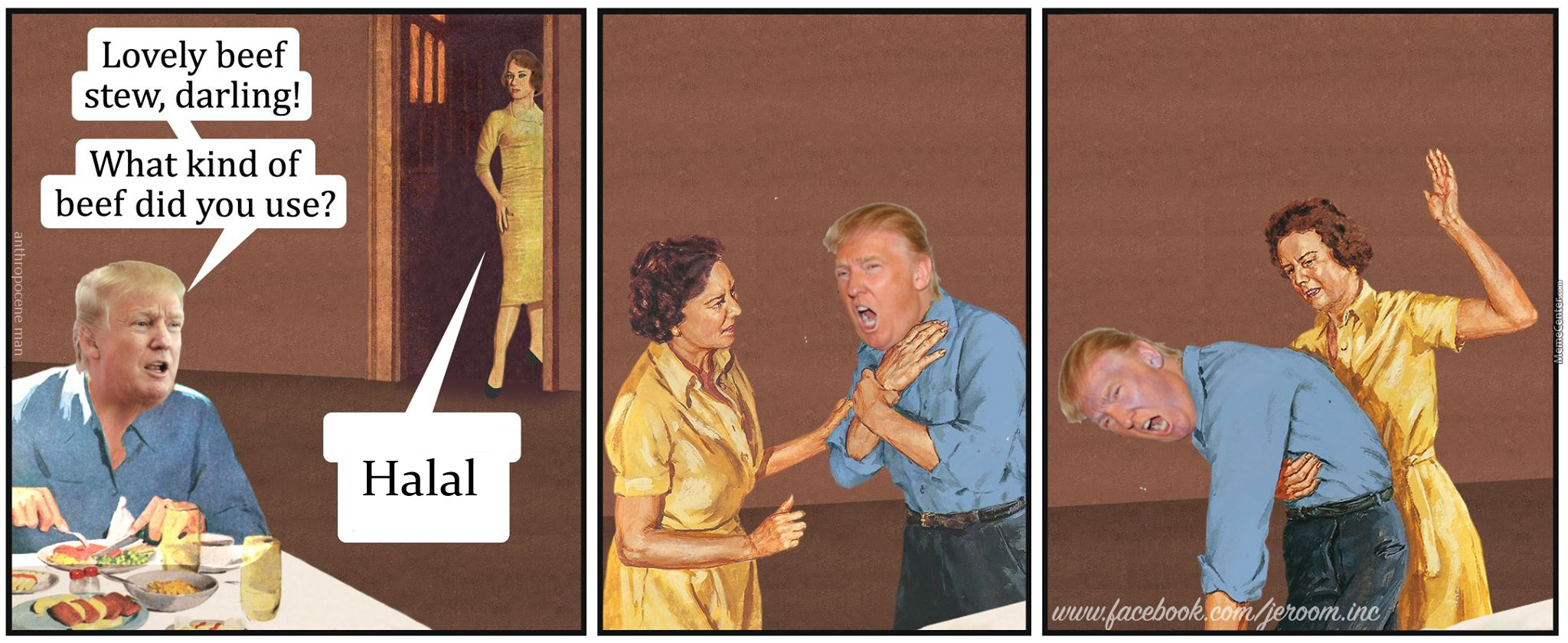 Meanwhile At Trumpu0027s House (Credit To Jeroom)