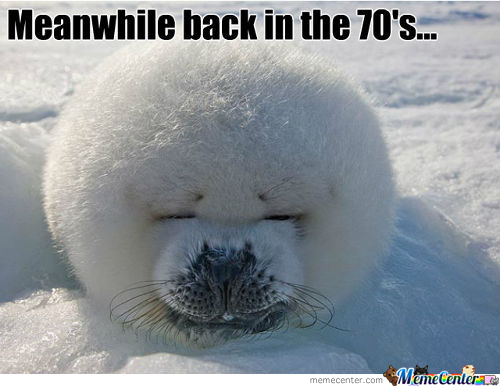 Meanwhile Back In The 70's..