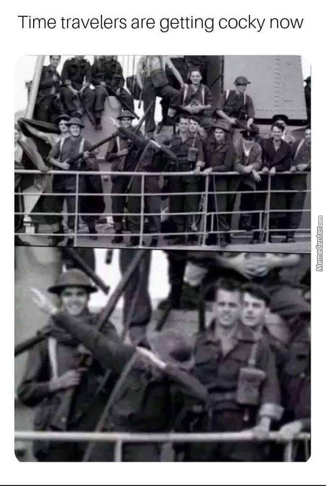 Meanwhile In 1940's
