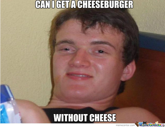 Meanwhile In A Fast Food Store....