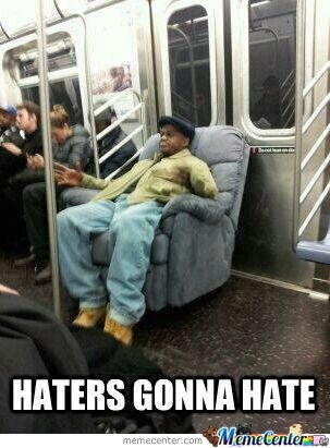 Meanwhile In A Subway Car