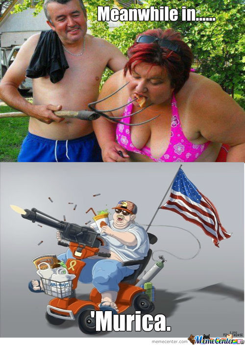 Meanwhile In 'murica