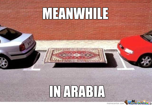 Meanwhile In Arabia