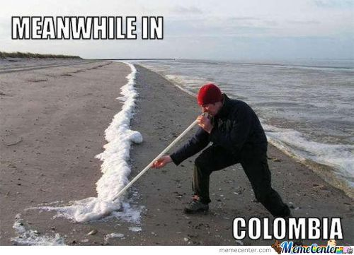 Meanwhile In Colombia ...
