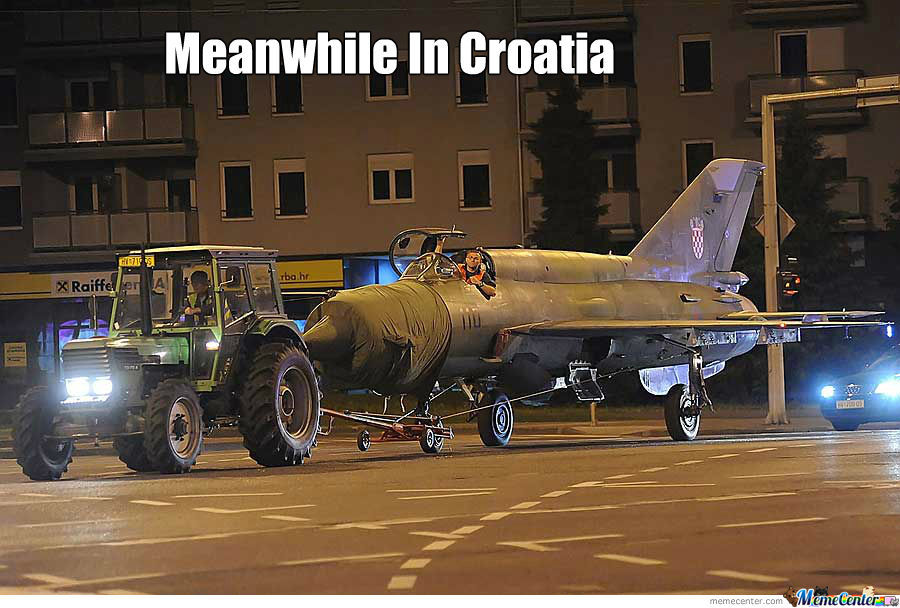 Meanwhile In Croatia