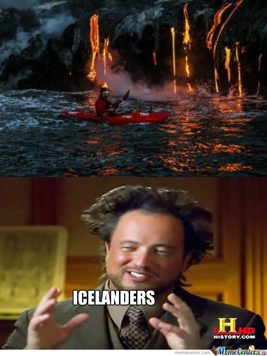 Meanwhile, In Iceland
