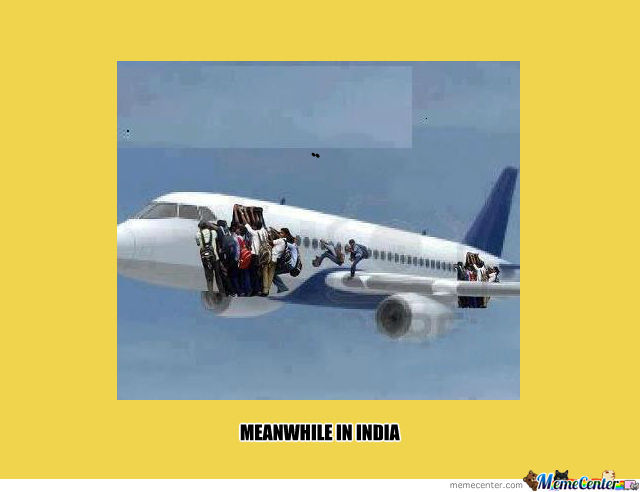 Meanwhile In India
