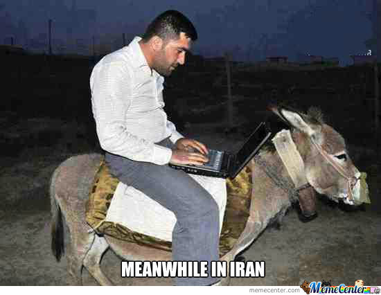 meanwhile in iran_o_1111858 meanwhile in iran! by roohollah shahrami meme center