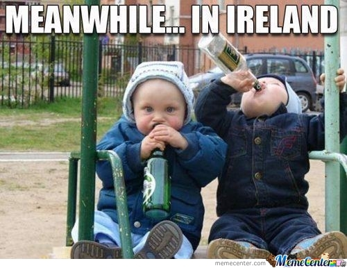Meanwhile... In Ireland