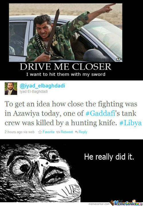 Meanwhile In Libya