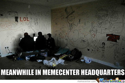 Meanwhile In Mc Headquarters