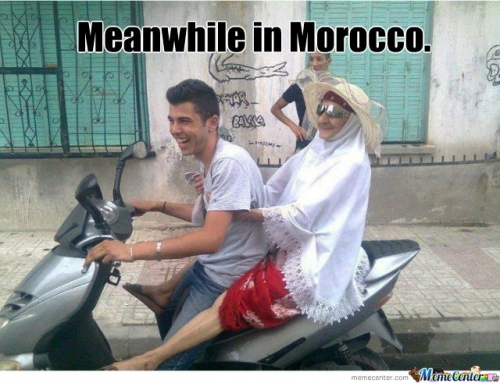 Meanwhile in Morocco
