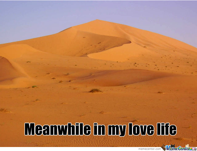 Meanwhile In My Love Life By Recyclebin Meme Center