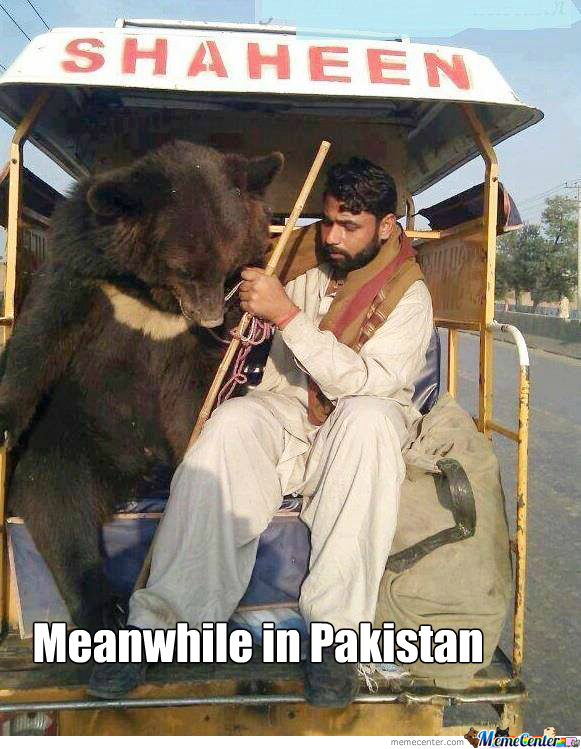 Meanwhile In Pakistan