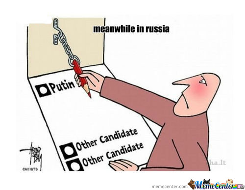 Meanwhile In Russia /voting