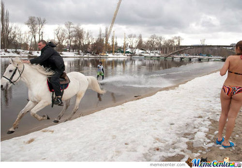 Meanwhile, In Russia.