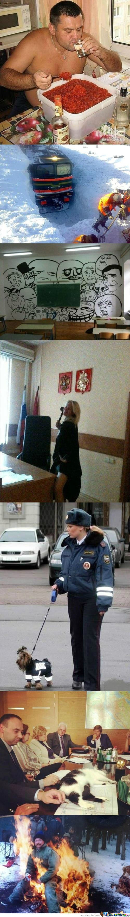 Meanwhile In Russia..