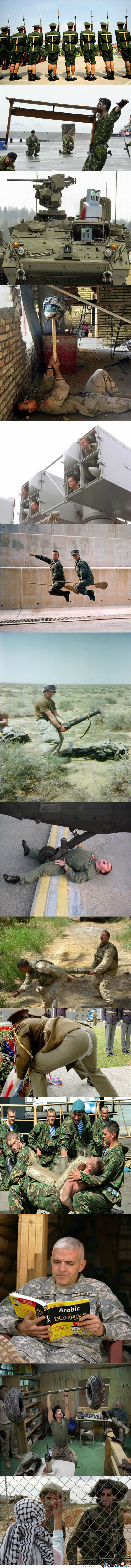 Meanwhile...in The Army!