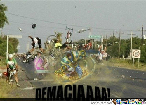 Meanwhile In The Summoners Rift