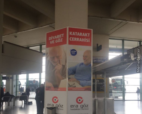 Meanwhile In Turkey, Harold Couldn't Hide The Pain