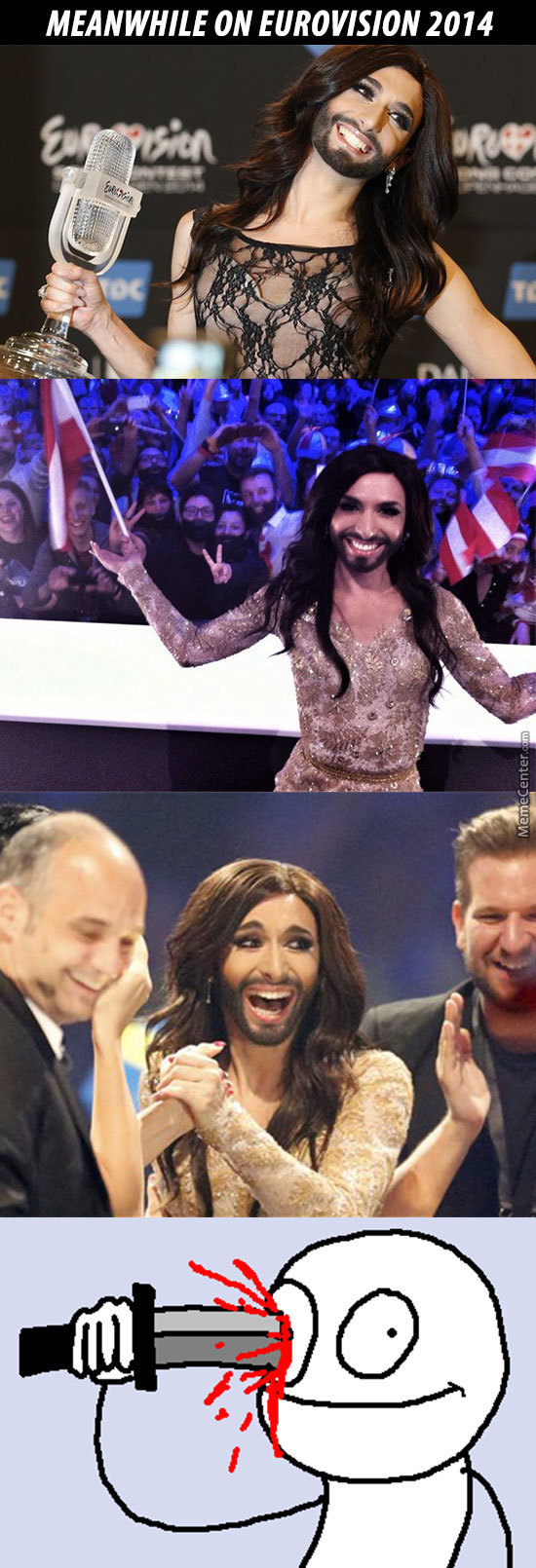 meanwhile on eurovision 2014_o_3199543 eurovision song contest memes best collection of funny eurovision