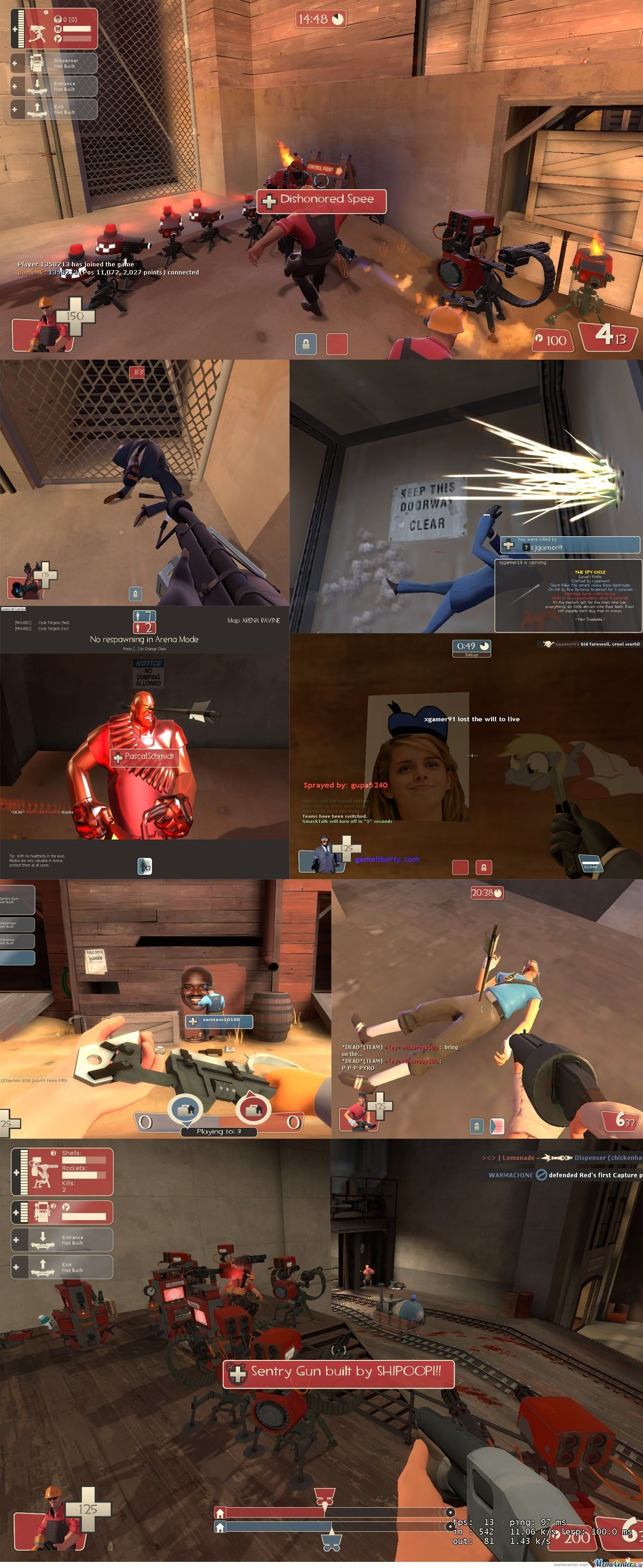 Meanwhile On Team Fortress 2...