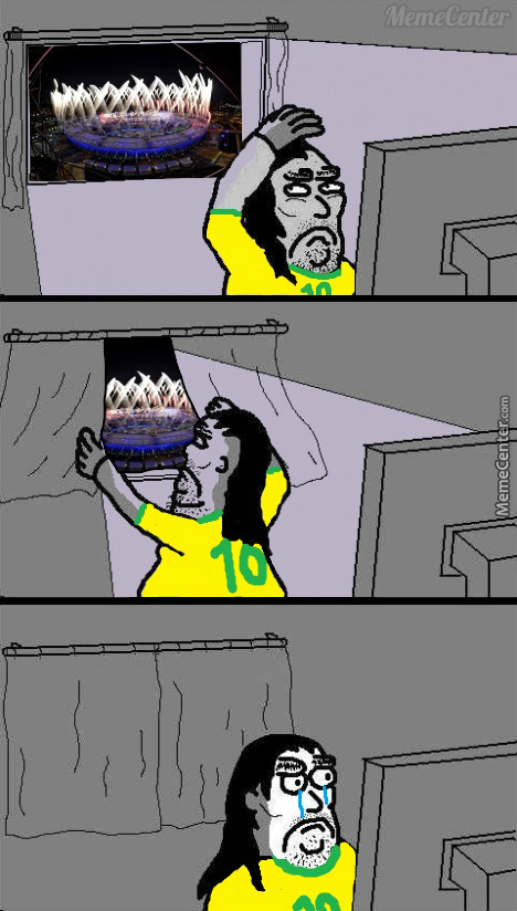 Meanwhile, Poor People In Brazil The Next Few Weeks.