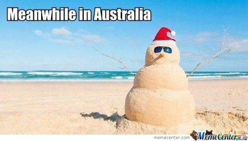 Meanwhille In Austrlia