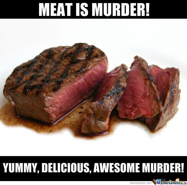 meat is murder_o_1104491 meat is murder! by serkopat meme center