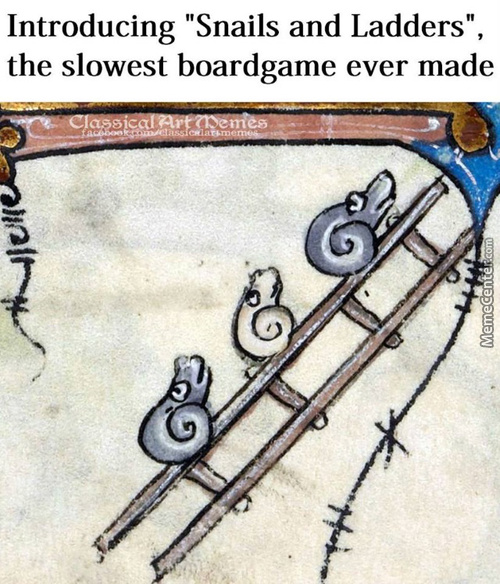 Medieval Artists Had A Fascination With Snails