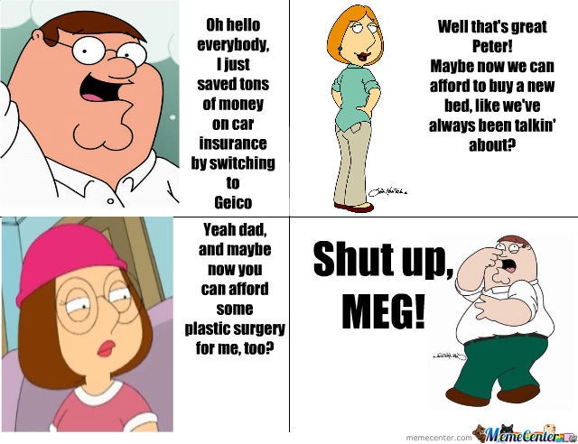 Meg Ruins Everything :|