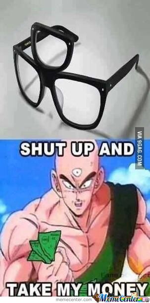 Mehehehe,you See Them As Glasses,i See Them As Extra Sharp Glass In Y'ar Eyes After I Hit O_O