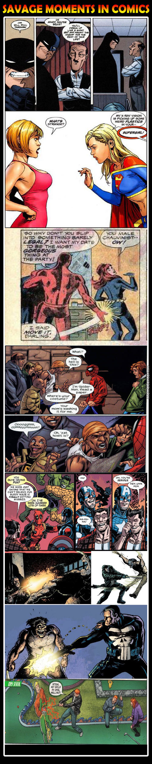 Member When Marvel Had Balls When Writing ?