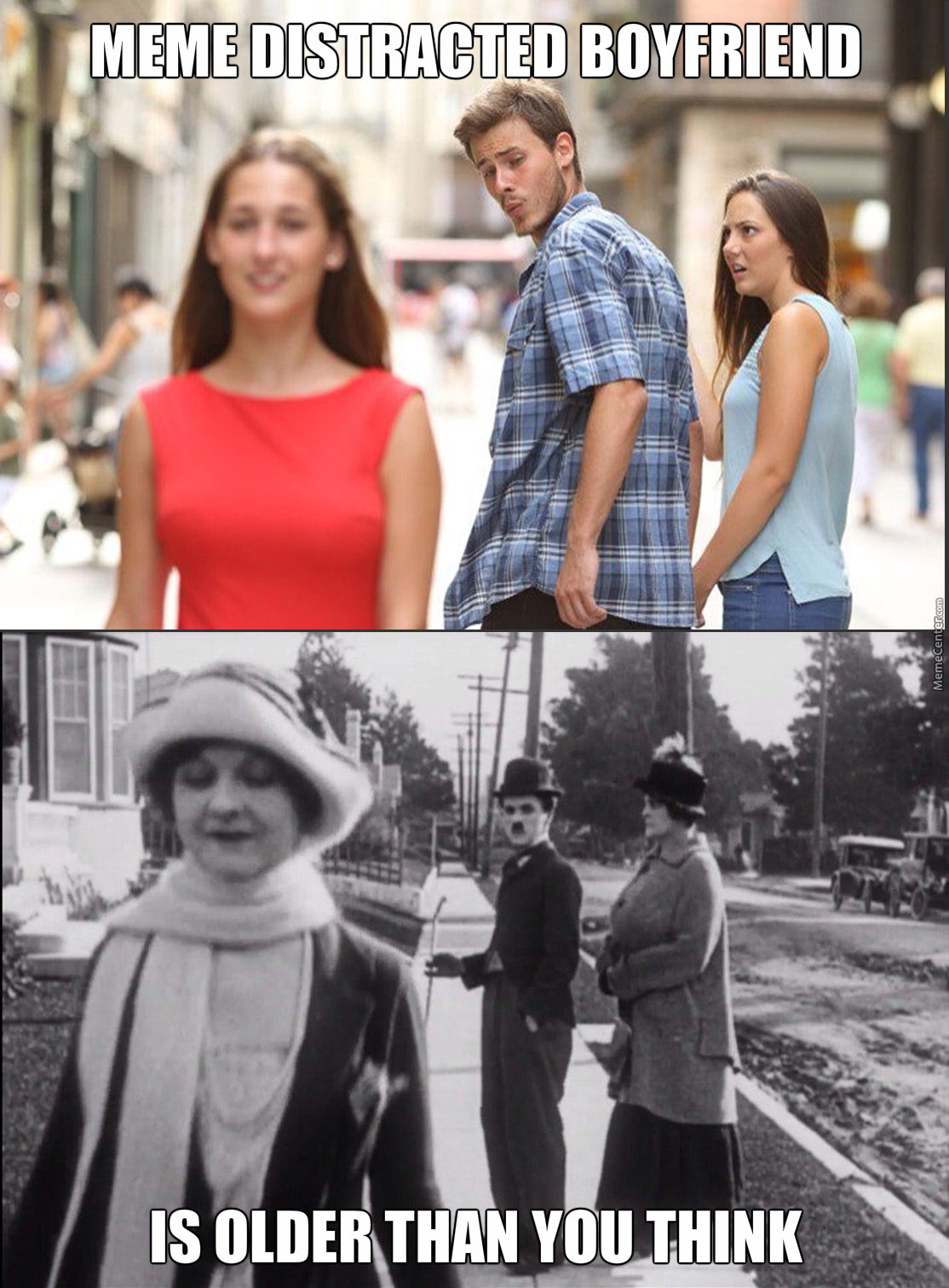 Meme Distracted Boyfriend Is Older Than You Think