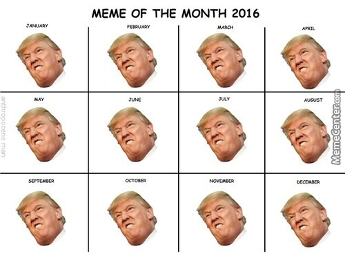 Meme Of The Month Calendars