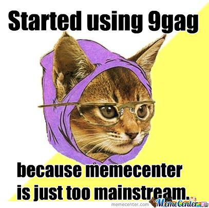 Memecenter Is Just Too Mainstream