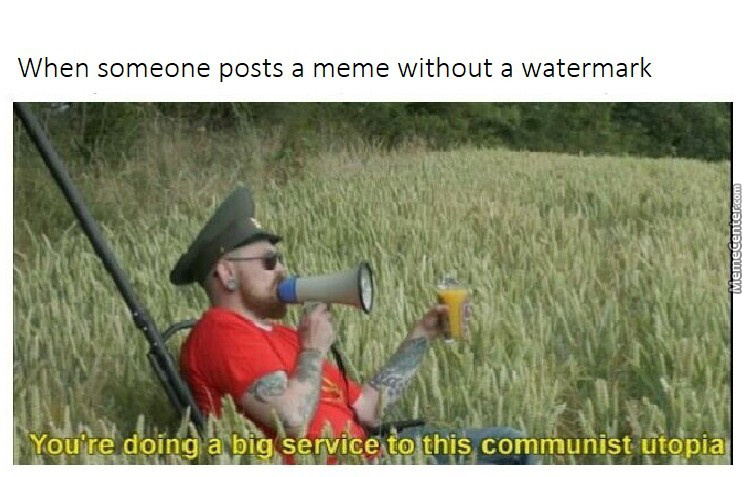 Memecenter Is The New Communist Utopia And You Are All Gonna Starve Here